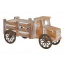 Carro di legno marrone (B / H / D) 17x20x40 cm