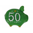 wholesale Gifts & Stationery: Savingsbox KCG Kleinschwein, 50 - year, from Ke