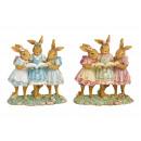 Gruppo di coniglietti di poli colorato (B / H / D)