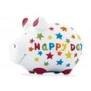 Savingsbox KCG Smallpig, Happy Day, realizzato in