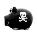 Savingsbox KCG Kleinschwein, Piratenschwein, aus K