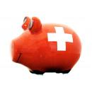 Savingsbox KCG Kleinschwein, Swiss Bank, realizzat