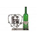Portabottiglie per bottiglia di vino Coppia seduta