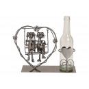 Portabottiglie per bottiglia di birra Coppia sedut