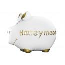 Salvadanaio KCG Small Pig, luna di miele, in ceram