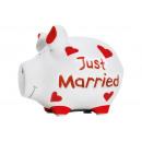 Savingsbox KCG Kleinschwein, Just Married , fatto