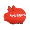Salvadanaio KCG maiale piccolo, maiale capitalista