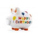 Savingsbox KCG Mittelschwein, Happy Birthday Mediu