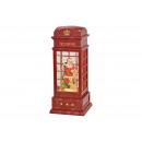 Cabina telefonica Nikolaus con illuminazione, glit