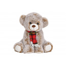 wholesale Dolls &Plush: Bear made of plush brown (W / H / D) 24x22x23cm