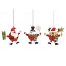 mayorista Casa y decoración: Figuras navideñas en espiral muñeco de nieve Nikol