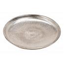 piatti realizzato in alluminio argento (L / A / P)
