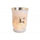 hurtownia Mieszkanie & Dekoracje: Dekoracja bożonarodzeniowa latarnia z białego ...