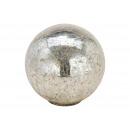 Espositore Sfera di vetro argento (L / A / P) 15x1