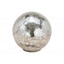 Espositore Sfera di vetro argento (L / A / P) 13x1