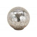 Espositore Sfera di vetro argento (L / A / P) 10x9