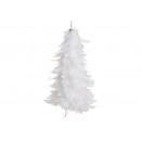 Albero di Natale appendiabiti in piuma, plastica b