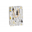 wholesale Gifts & Stationery: Gift bag winter forest decor made of paper / cardb