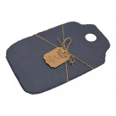 wholesale Decoration: Black slate serving board (W / H) 23x35cm