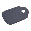 Black slate serving board (W / H) 17x25cm