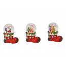 wholesale Snow Globes: Snow globe Santa Claus, snowman, elk with Christma