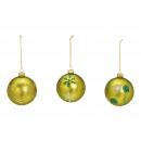 Fiocchi di neve palla di Natale, decorazioni in ab