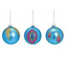 Palla di Natale glitter decorazione primaverile in
