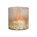 wholesale Home & Living: Wind light made of glass gray (W / H / D) 10x10x10