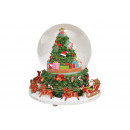 wholesale Snow Globes: Music box, snow globe with music, moving. Tree, ni
