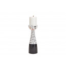 wholesale Home & Living: Candle holder woman made of ceramic black, ...