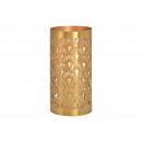 Lanterna in metallo dorato (L / A / P) 10x20x10cm