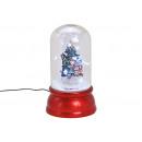 Albero di Natale abete con luce, musica vortice di