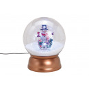 wholesale Gifts & Stationery: Music box ball with light, music snow vortex, snow