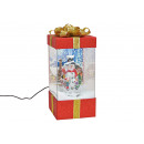 wholesale Jewelry Storage: Music box gift box with light, music snow vortex