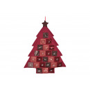 Calendario dell'Avvento Albero di Natale in te