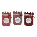 wholesale Gifts & Stationery: Bag Merry Christmas made of textile Bordeaux, ...