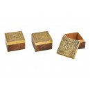 wholesale Decoration: Jewelry box oriental made of wood, metal gold ...