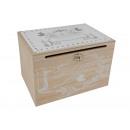 Scatola di legno Matrimonio per cartone in legno n