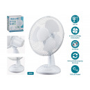 wholesale Air Conditioning Units & Ventilators: Table fan made of plastic white Ø23cm, 2 levels