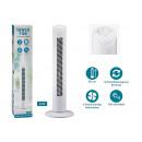 groothandel Huishouden & Keuken: Torenventilator van kunststof wit (H) 80cm 3 Gesc