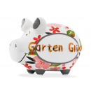 wholesale Gifts & Stationery: Money box KCG small pig, garden luck gold editio