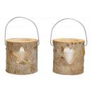 grossiste Maison et habitat: Lanternes, coeur, décor étoile, avec verre, verre