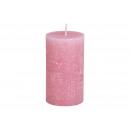 Régi rózsaszínű viaszból készült 6,8x12x6,8cm gyer