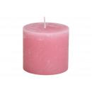 10x9x10cm gyertya régi rózsaszínű viaszból