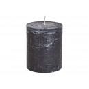 10x12x10cm gyertya fekete viaszból