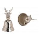 grossiste Meubles de jardin: Cloche, cloche de table en aluminium Tête de cerf
