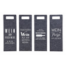 wholesale Food & Beverage: Gift bag bottle bag sayings wine from Fil