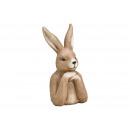 Testa di coniglio in magnesia marrone, (L / A / P)