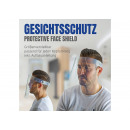 Protezione del viso, trasparente, circonferenza de