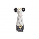 wholesale Fan Merchandise & Souvenirs: Elephant with glasses made of ceramic white (W / H